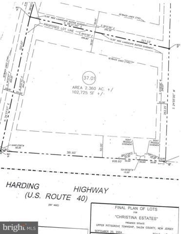 L 37.01 Route 40, ELMER, NJ 08318 (MLS #NJSA127948) :: The Dekanski Home Selling Team