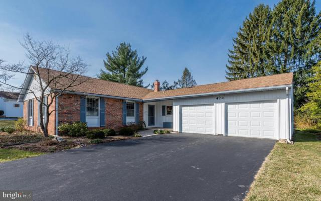 424 Allendale Way, CAMP HILL, PA 17011 (#PACB110346) :: Teampete Realty Services, Inc