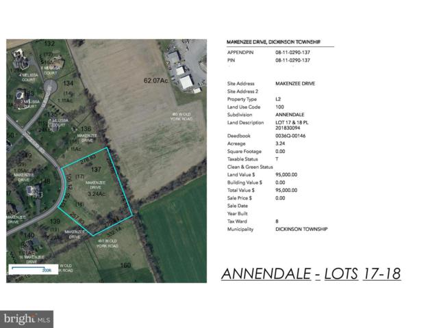 00 Annendale - Makenzee Drive Lots 17&18, CARLISLE, PA 17015 (#PACB111596) :: The Jim Powers Team