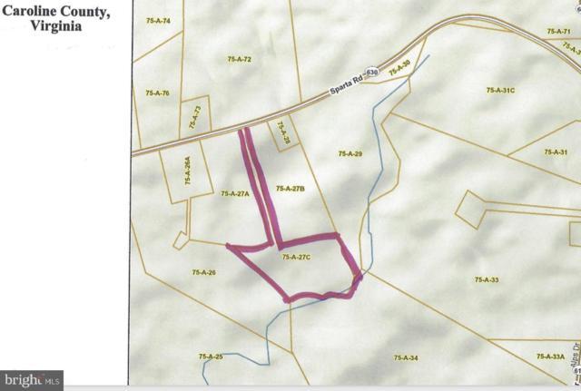 Sparta Road, MILFORD, VA 22514 (#VACV119916) :: Eng Garcia Grant & Co.