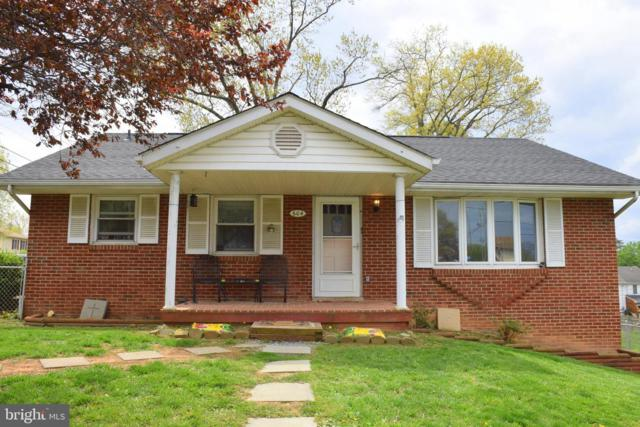 604 W 13TH Street, FRONT ROYAL, VA 22630 (#VAWR136424) :: The Sebeck Team of RE/MAX Preferred