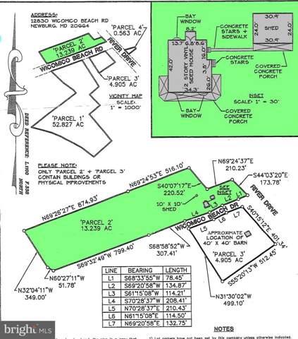 12830-- PARCEL 2 Wicomico Beach Road, NEWBURG, MD 20664 (#MDCH201106) :: Eng Garcia Properties, LLC