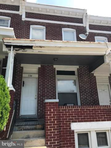 726 Bartlett Avenue, BALTIMORE, MD 21218 (#MDBA466972) :: Radiant Home Group