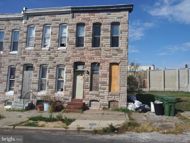 1122 N Montford Avenue, BALTIMORE, MD 21213 (#MDBA468580) :: Radiant Home Group