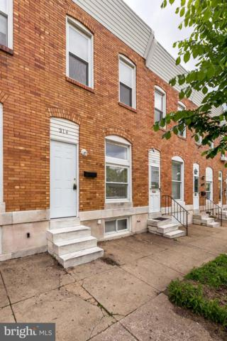 314 Oldham Street, BALTIMORE, MD 21224 (#MDBA468952) :: The Miller Team