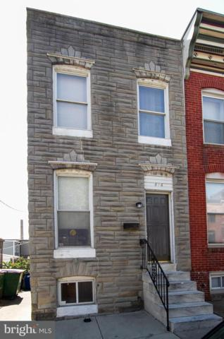 816 S Linwood Avenue, BALTIMORE, MD 21224 (#MDBA469066) :: The Speicher Group of Long & Foster Real Estate