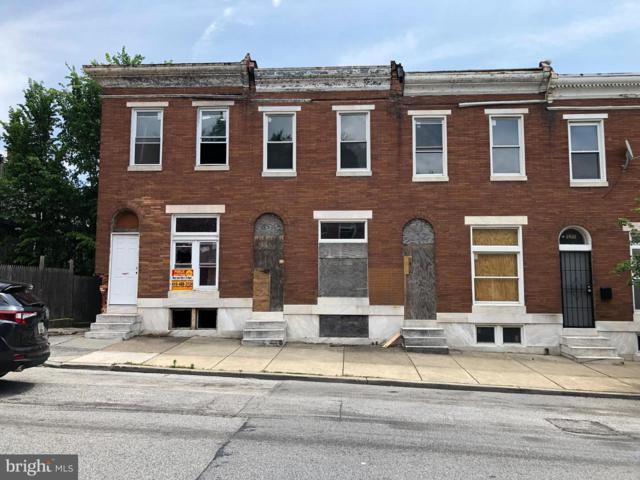 1837 N Washington Street, BALTIMORE, MD 21213 (#MDBA469478) :: The Miller Team