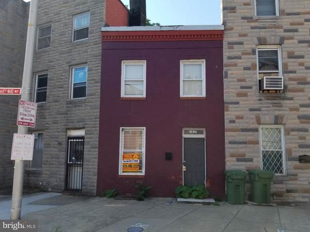 1835 Frederick Avenue, BALTIMORE, MD 21223 (#MDBA469514) :: Radiant Home Group