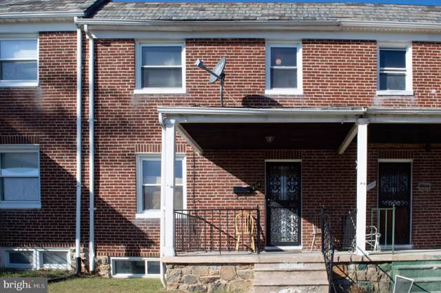 704 Chestnut Hill Avenue, BALTIMORE, MD 21218 (#MDBA473474) :: The Vashist Group