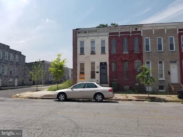 308 S Pulaski Street, BALTIMORE, MD 21223 (#MDBA474750) :: ExecuHome Realty