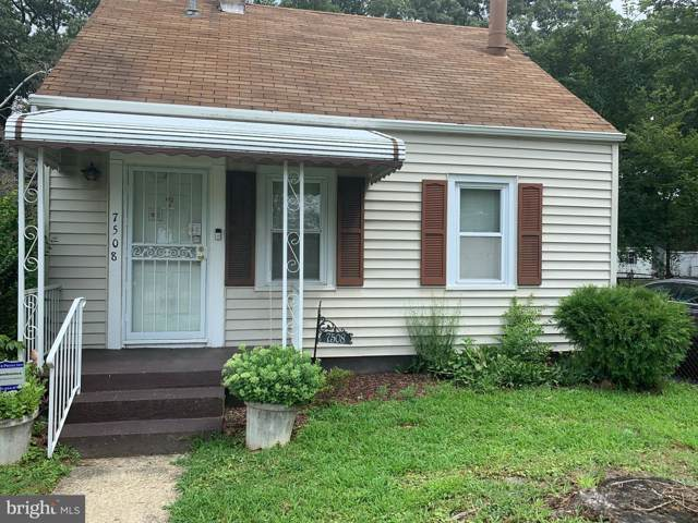 7508 Leona Street, DISTRICT HEIGHTS, MD 20747 (#MDPG536014) :: The Miller Team