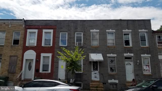 1847 Ramsay Street, BALTIMORE, MD 21223 (#MDBA476552) :: Radiant Home Group