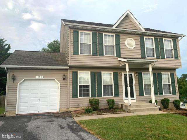 953 Murphy Court, NEW WINDSOR, MD 21776 (#MDCR190452) :: Bob Lucido Team of Keller Williams Integrity