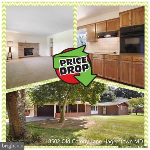 18502 Old Colony Lane, HAGERSTOWN, MD 21742 (#MDWA166726) :: Jennifer Mack Properties