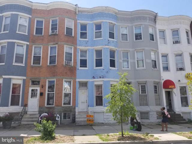 2021 W North Avenue, BALTIMORE, MD 21217 (#MDBA478058) :: Radiant Home Group