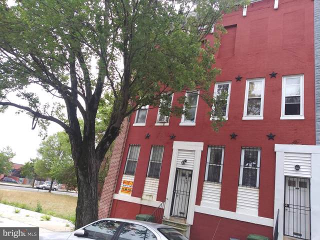 1613 W Lanvale Street, BALTIMORE, MD 21217 (#MDBA478264) :: Homes to Heart Group