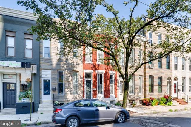 1405 Riverside Avenue, BALTIMORE, MD 21230 (#MDBA478728) :: Homes to Heart Group