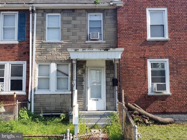 1404 N Chesapeake Road, CAMDEN, NJ 08104 (#NJCD373406) :: LoCoMusings