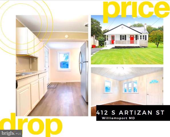 412 S Artizan Street, WILLIAMSPORT, MD 21795 (#MDWA167286) :: Eng Garcia Grant & Co.