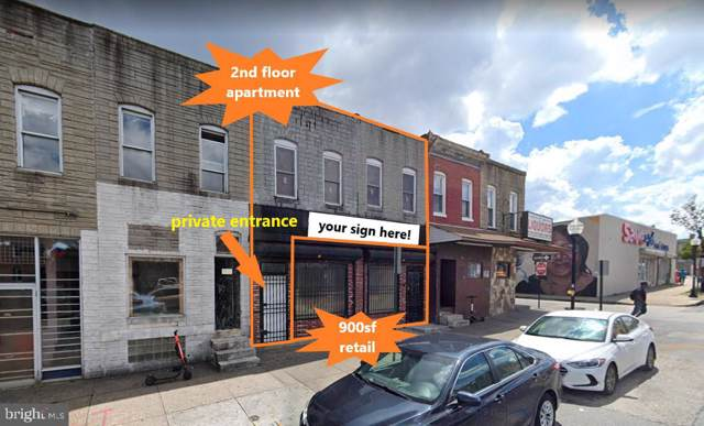2525 E Monument Street, BALTIMORE, MD 21205 (#MDBA481696) :: Homes to Heart Group