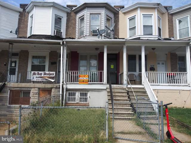 3408 W Belvedere Avenue, BALTIMORE, MD 21215 (#MDBA483594) :: The Licata Group/Keller Williams Realty