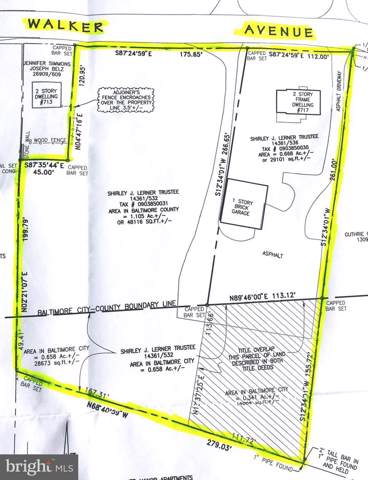 717 Walker Avenue, BALTIMORE, MD 21212 (#MDBC472238) :: HergGroup Horizon