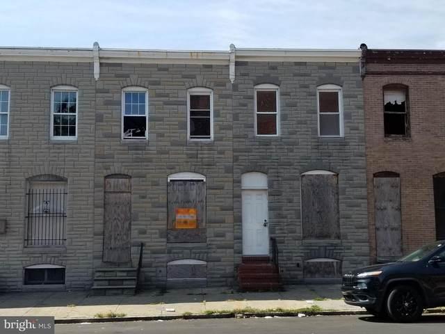 518 S Smallwood Street, BALTIMORE, MD 21223 (#MDBA485834) :: EXIT Realty Enterprises