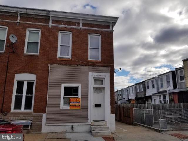 801 N Rose Street, BALTIMORE, MD 21205 (#MDBA485922) :: The Maryland Group of Long & Foster