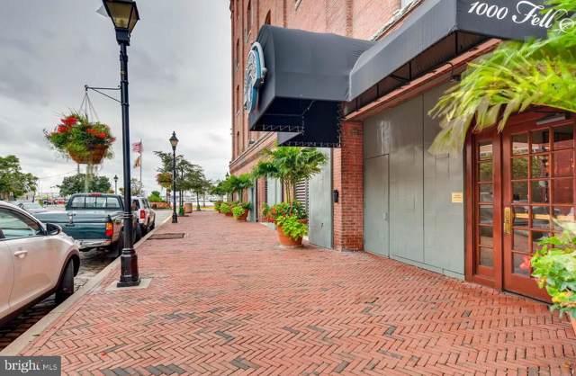1000 Fell Street #618, BALTIMORE, MD 21231 (#MDBA489050) :: The Licata Group/Keller Williams Realty
