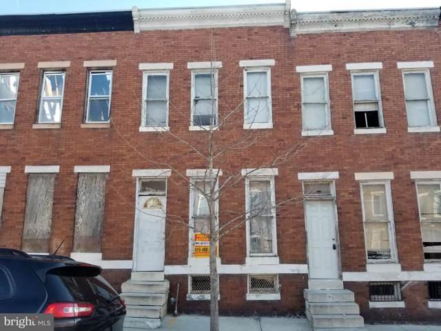 537 N Pulaski Street, BALTIMORE, MD 21223 (#MDBA489358) :: The Vashist Group