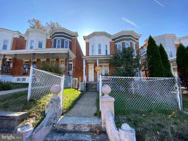 3041 Belmont Avenue, BALTIMORE, MD 21216 (#MDBA489634) :: The Redux Group
