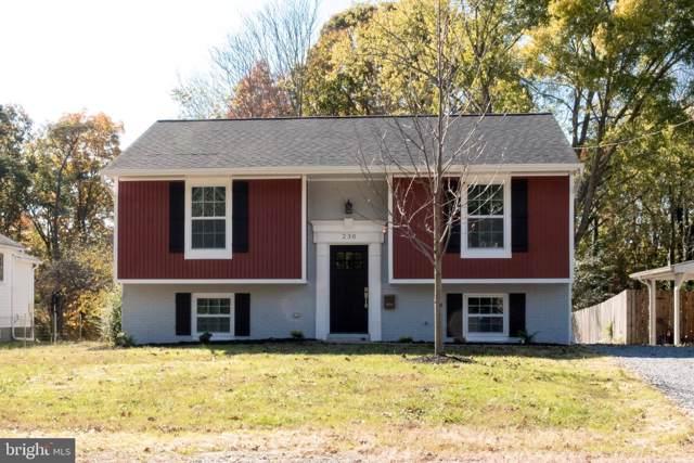 230 Hillcrest Drive, FREDERICKSBURG, VA 22401 (#VAFB116100) :: Keller Williams Pat Hiban Real Estate Group