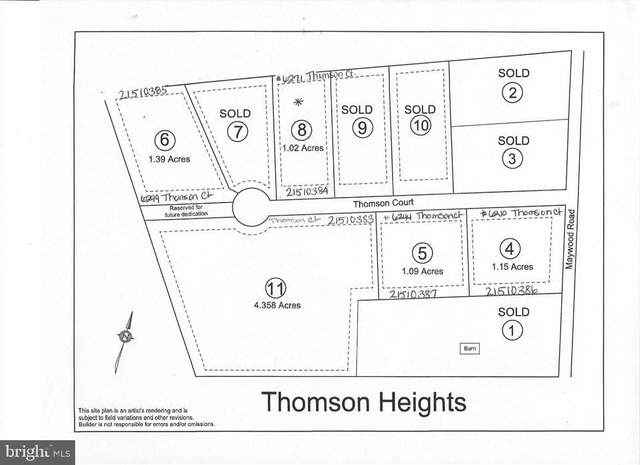 LOT 11 Thomson Court #11, THOMASVILLE, PA 17364 (#PAYK128592) :: Bob Lucido Team of Keller Williams Integrity