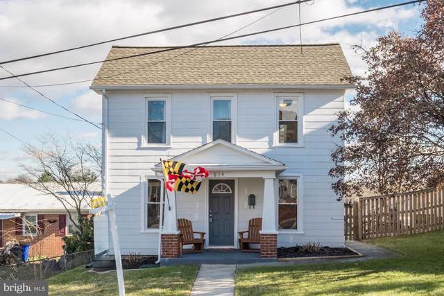 614 N Maple Avenue, BRUNSWICK, MD 21716 (#MDFR256946) :: Viva the Life Properties