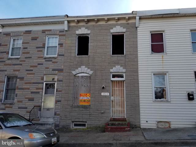 2515 Dulany Street, BALTIMORE, MD 21223 (#MDBA494256) :: ExecuHome Realty