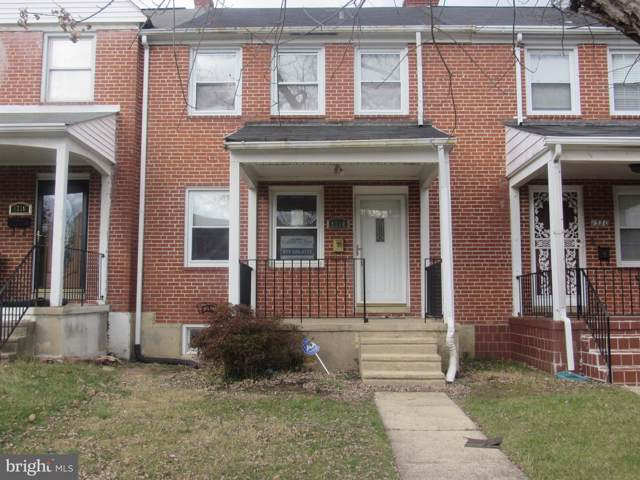 1318 E Stonewood Road SW, BALTIMORE, MD 21239 (#MDBA494448) :: The Licata Group/Keller Williams Realty
