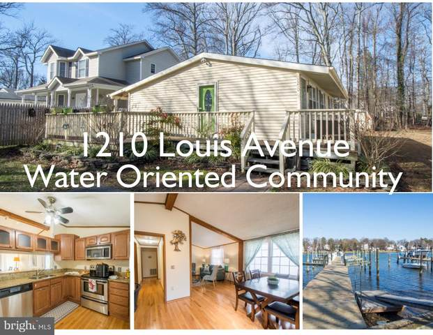 1210 Louis Avenue, ANNAPOLIS, MD 21403 (#MDAA423010) :: John Smith Real Estate Group