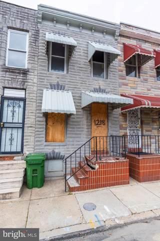 1218 N Spring Street, BALTIMORE, MD 21213 (#MDBA498986) :: The Licata Group/Keller Williams Realty