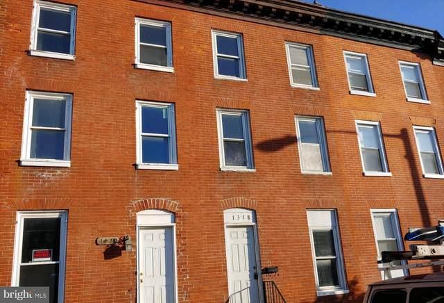 1318 W Pratt Street, BALTIMORE, MD 21223 (#MDBA505286) :: Corner House Realty