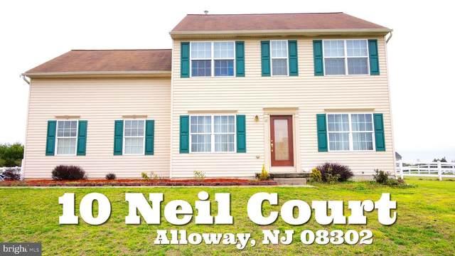 10 Neil Court, ALLOWAY, NJ 08001 (#NJSA137748) :: Bob Lucido Team of Keller Williams Integrity
