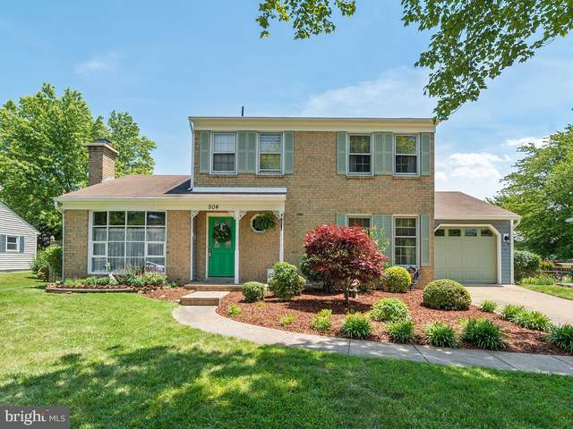 504 Valley View Avenue SW, LEESBURG, VA 20175 (#VALO411240) :: The Piano Home Group