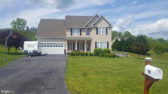 95 Waterview Drive, CAPON BRIDGE, WV 26711 (#WVHS114156) :: Bob Lucido Team of Keller Williams Integrity