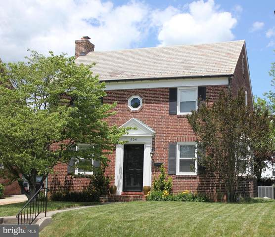 654 Regester Avenue, BALTIMORE, MD 21212 (#MDBC495354) :: ExecuHome Realty