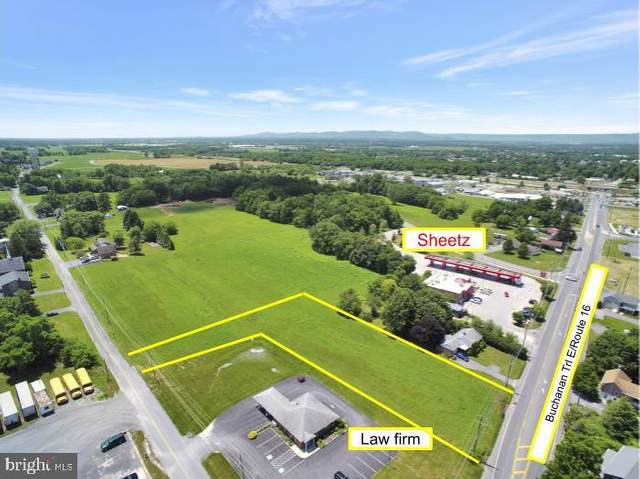 Route 16/Buchanan Trail E, GREENCASTLE, PA 17225 (#PAFL173542) :: Bowers Realty Group