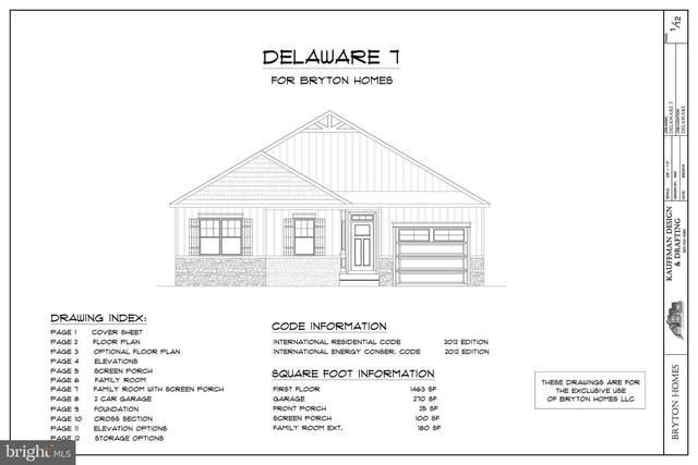 Lot 4 Hickman Dr, OCEAN VIEW, DE 19970 (#DESU164412) :: Tessier Real Estate