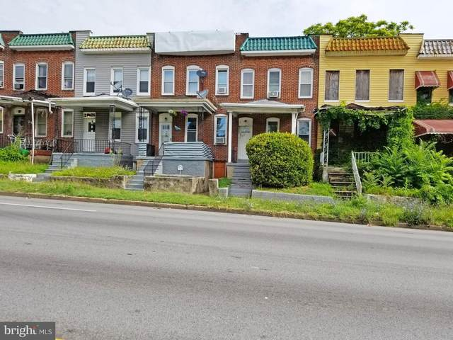 2624 W Franklin Street, BALTIMORE, MD 21223 (#MDBA518578) :: SURE Sales Group
