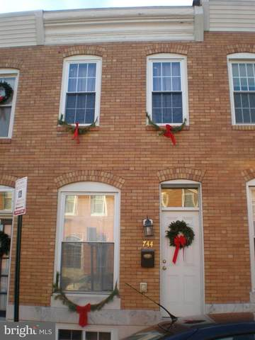 744 S Curley Street, BALTIMORE, MD 21224 (#MDBA519320) :: The Miller Team