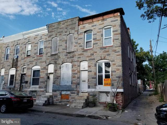626 N Glover Street, BALTIMORE, MD 21205 (#MDBA521782) :: AJ Team Realty