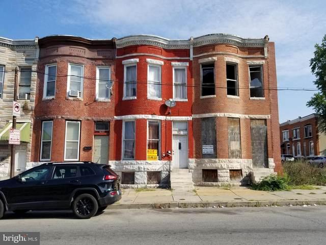 1812 W Lafayette Avenue, BALTIMORE, MD 21217 (#MDBA521836) :: SURE Sales Group