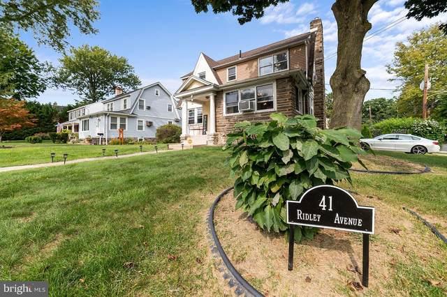 41 Ridley Avenue, ALDAN, PA 19018 (#PADE526926) :: John Lesniewski   RE/MAX United Real Estate
